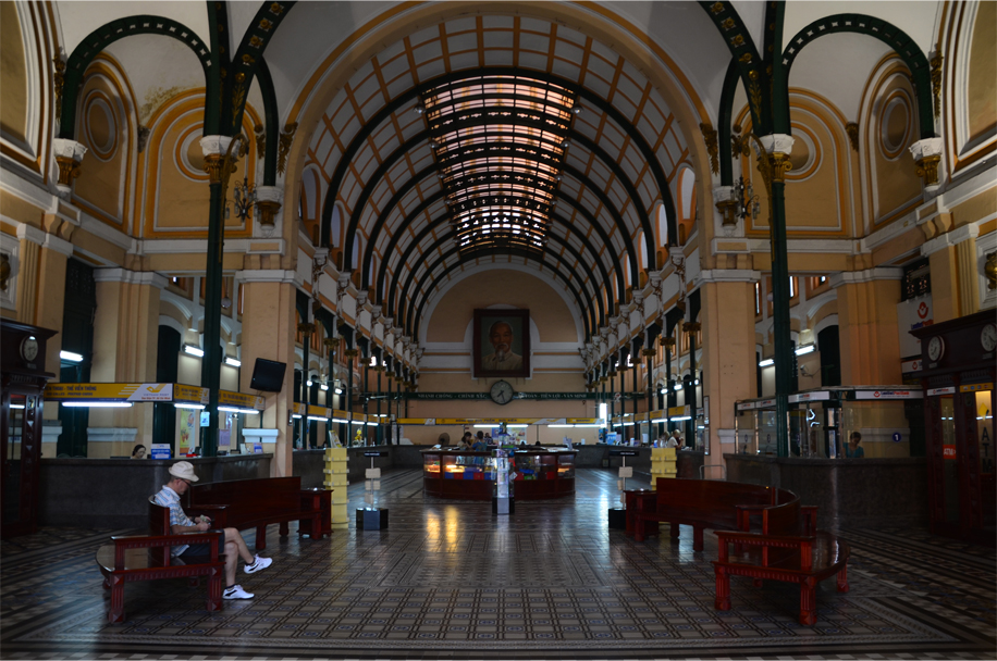 Inside the Central Post Office