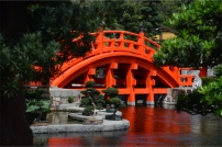 The orange bridge