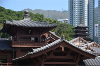 Tang Dynasty roofscape