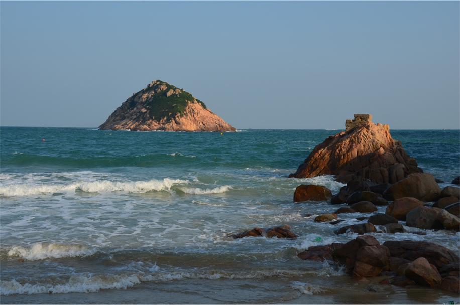 Out to sea, Shek O