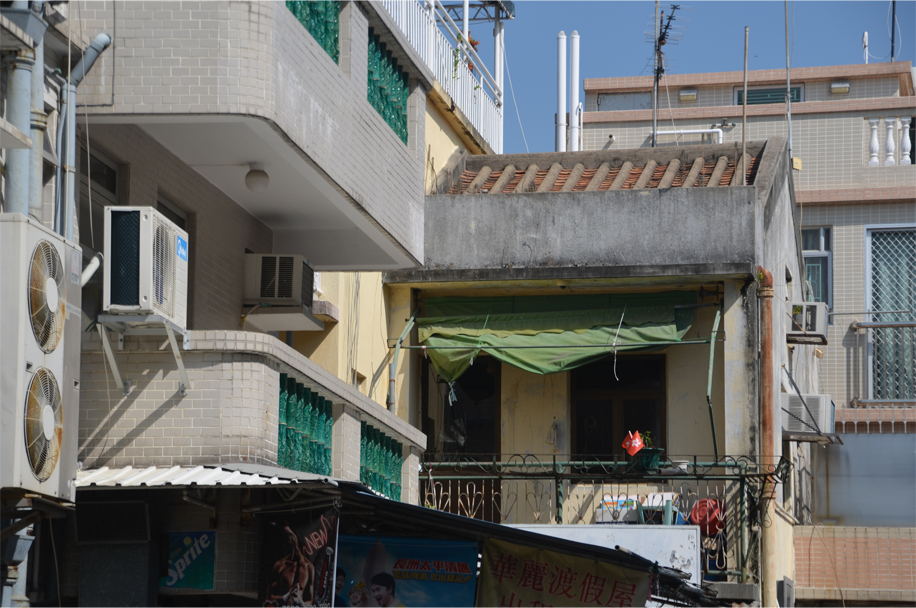 Village houses, Cheung Chau