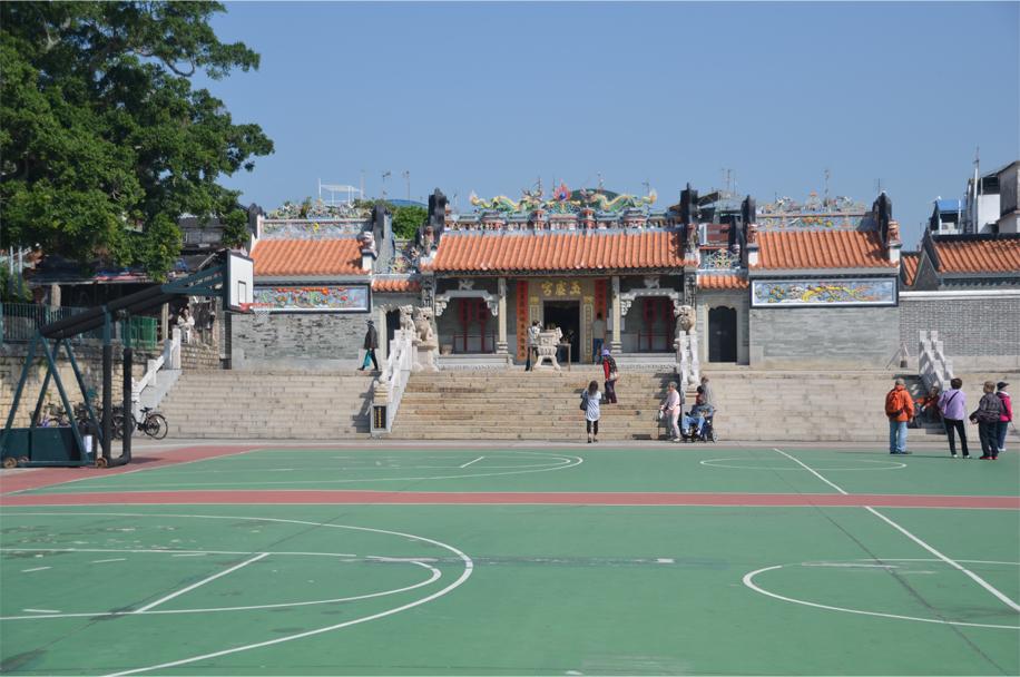 Pak Tai Temple & playground, Cheung Chau