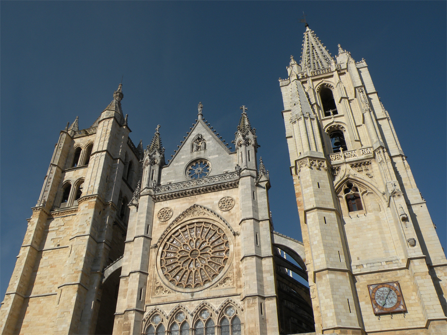 West front, Cathedral of León