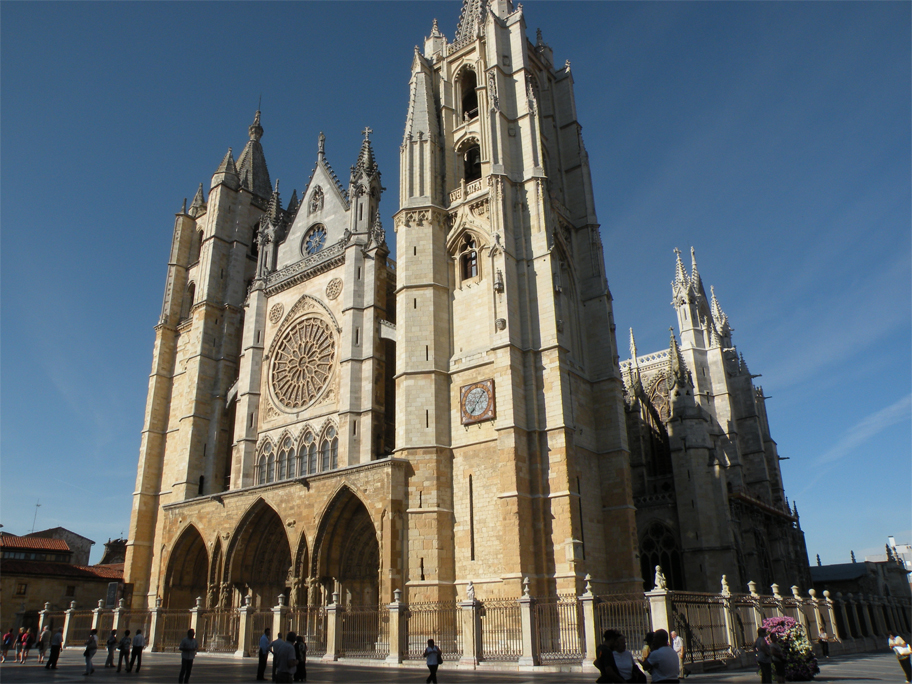 The cathedral's west front