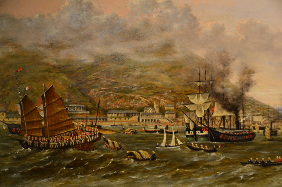 Hong Kong in the mid-19th century