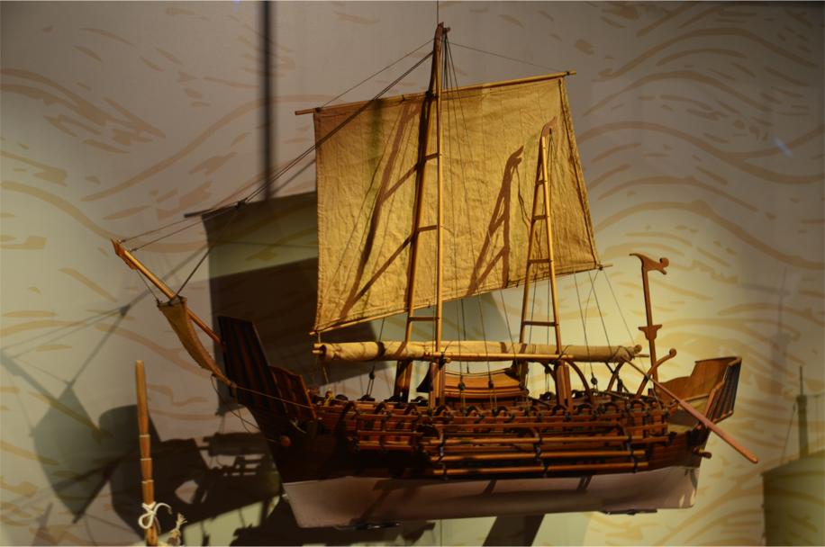 The 8th century Javanese 'Borobudur Ship'