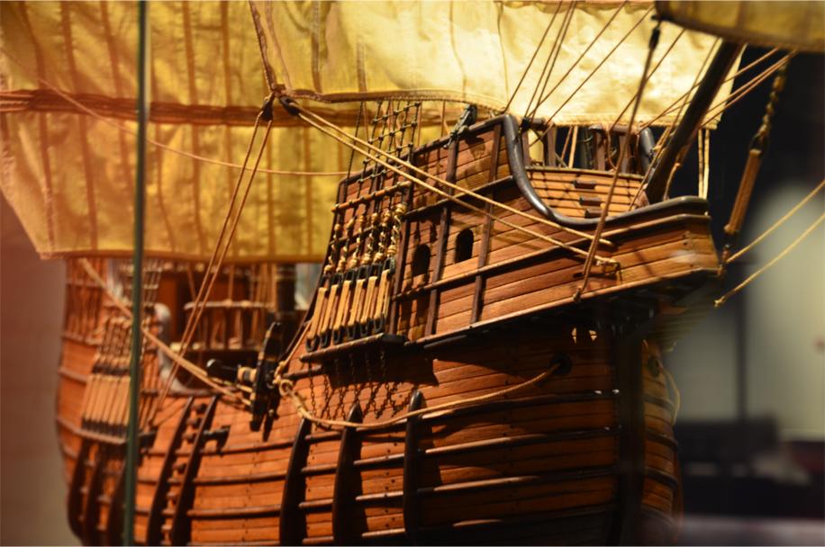 Hull of a Portuguese carrack