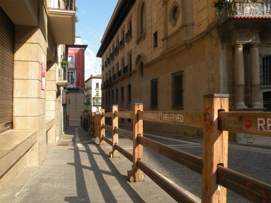 Barriers for encierro