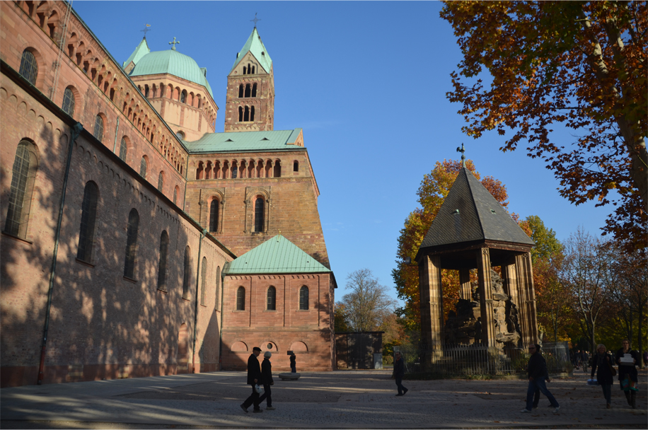 Speyer in autumn