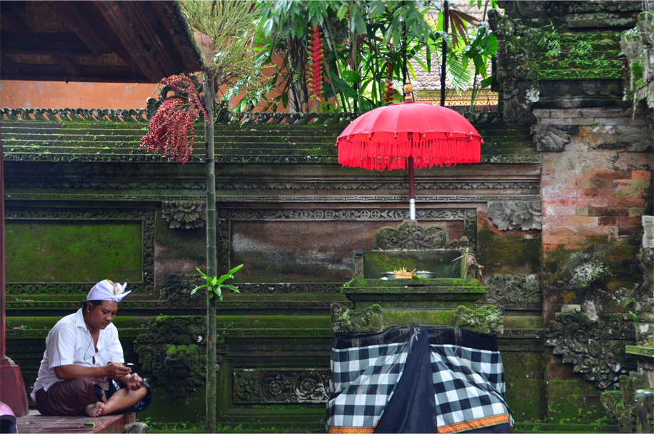 Downtime at Ubud Palace