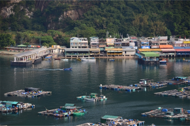Fish farms and restaurants, Sok Kwu Wan