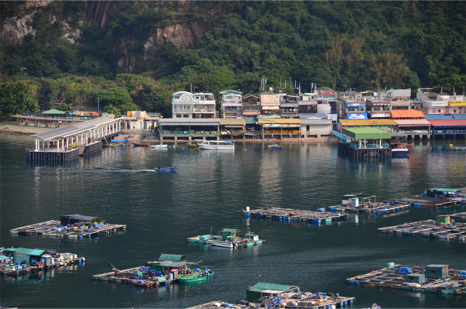 Fish farms and restaurants, Sok Kwu Wan