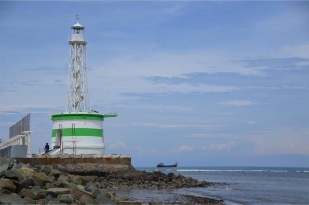Dili's lighthouse