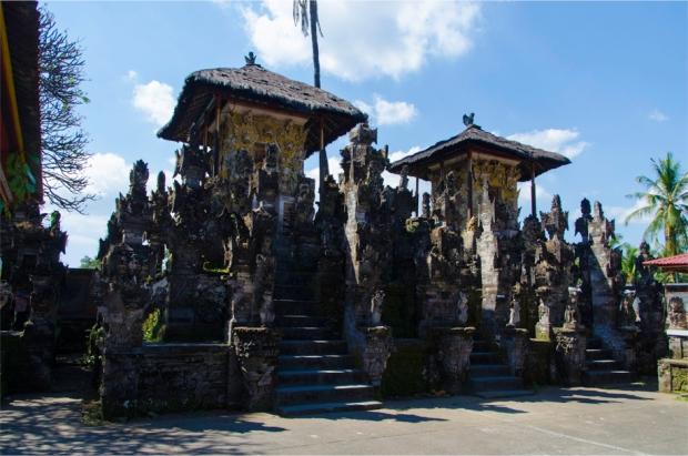 The inner sanctuary of Pura Dalem Jagaraga