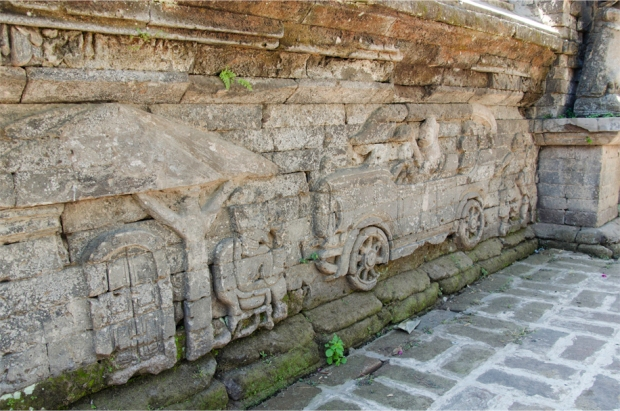 Another view of the reliefs
