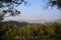 Yuen Long New Town and the villages of Shap Bat Heung