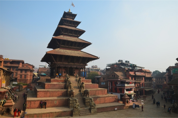 Nyatapola pagoda, Bhaktapur