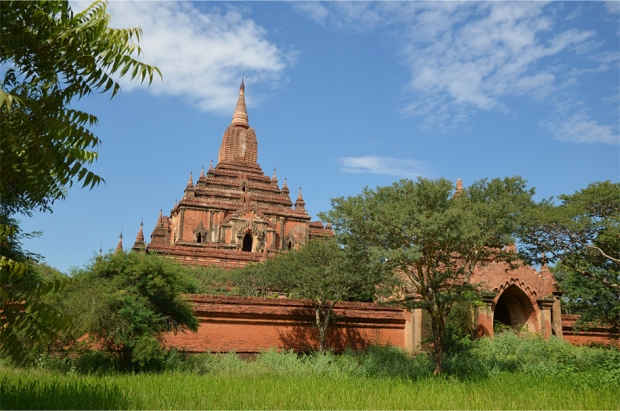 Sulamani is among the most graceful of Bagan's major temples