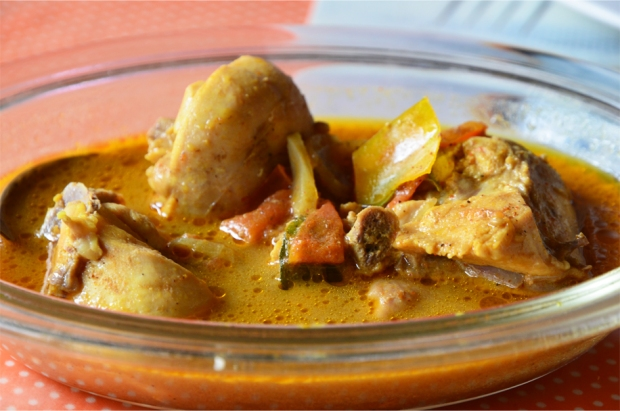 A light chicken curry in Galle