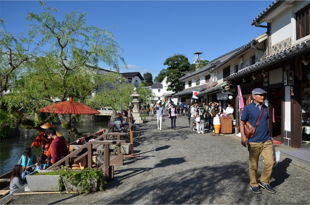 The heart of Kurashiki's Bikan Historical Quarter