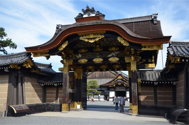 Karamon, the main gateway to Nijo Castle's Ninomaru Palace