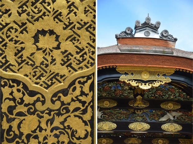 Exquisite details on Karamon gate