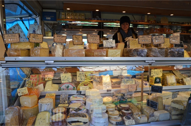 "Heaps of real cheese for sale (emphasis on ""real"")"