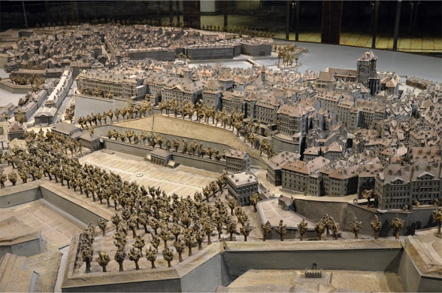 Auguste Magnin's incredible model of old Geneva, housed inside Maison Tavel