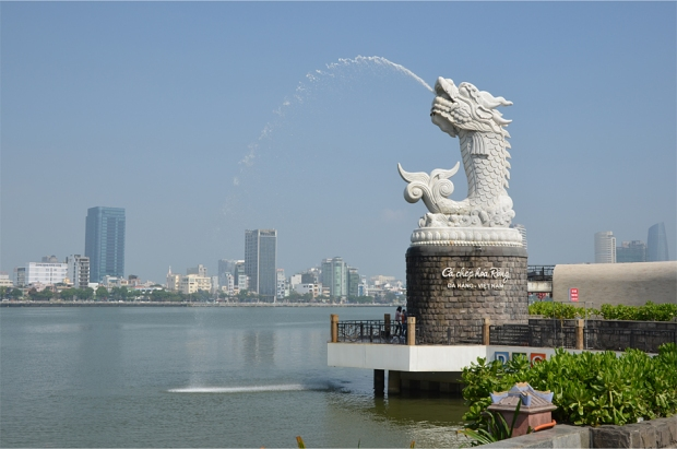 "The ""Merdragon"", Da Nang's answer to Singapore's Merlion"